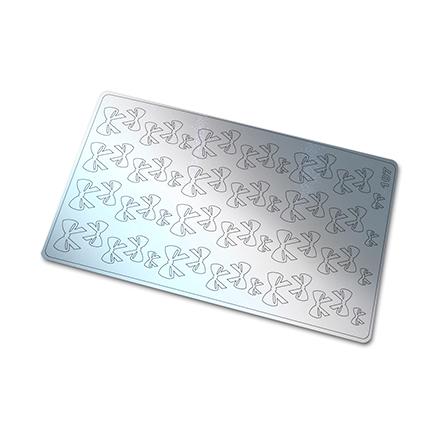 Купить Freedecor, Металлизированные наклейки №107, серебро