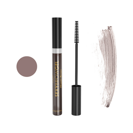 Innovator Cosmetics, Гель для бровей оттеночный «Sexy Brow Gel», классический коричневый