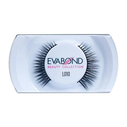 Купить EVABOND, Ресницы накладные L010, черные