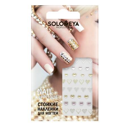 Solomeya, Наклейки для дизайна «Сердца»Наклейки для дизайна<br>Влагостойкие наклейки для необычного дизайнерского маникюра.