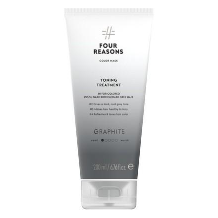 Купить Four Reasons, Маска для волос Toning Treatment Graphite, 200 мл