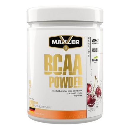 Maxler, Комплекс аминокислот BCAA Powder, вишня, 420 г