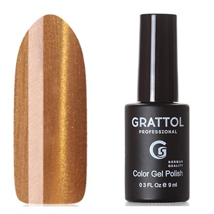 Grattol, Гель-лак Crystal №001, Gold