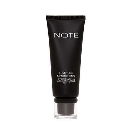 Купить Note, Тональная основа для лица Luminous Moisturizing, тон 01