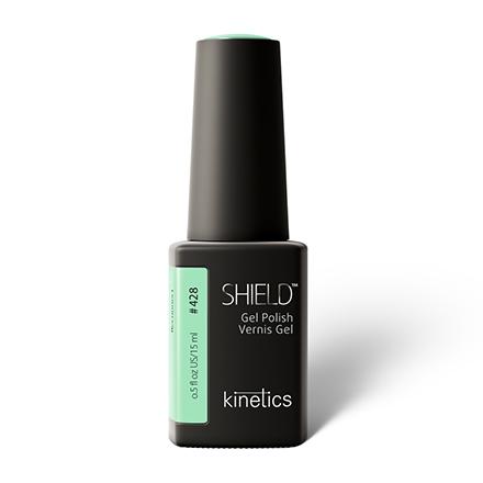 Купить Kinetics, Гель-лак Shield №428, 15 мл, Зеленый