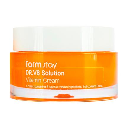FarmStay, Крем для лица DR.V8 Solution Vitamin, 50 мл