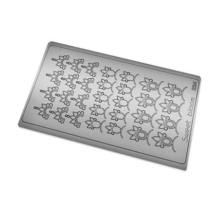 Купить Freedecor, Металлизированные наклейки №224, серебро