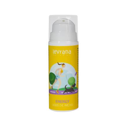 Levrana, Жидкие патчи Energy, 30 млДля кожи вокруг глаз<br>Восстанавливающее средство для омоложения кожи.