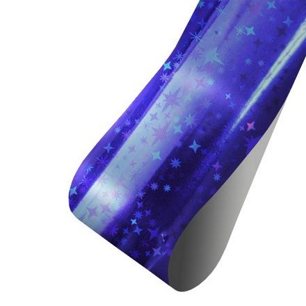 Patrisa Nail, Фольга для литья, фиолетово-синяя глянец Звездочки (Patrisa nail)