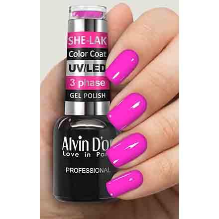 Купить Alvin D'or, Гель-лак №3582, Розовый