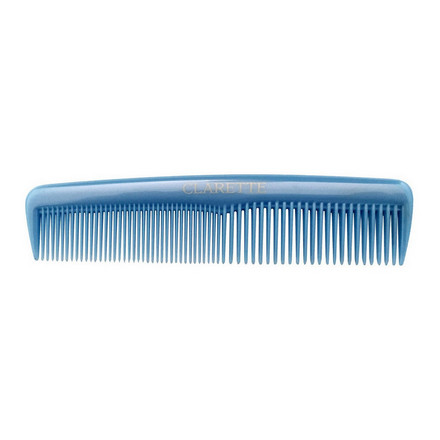 Купить Clarette, Расческа универсальная для волос, голубая