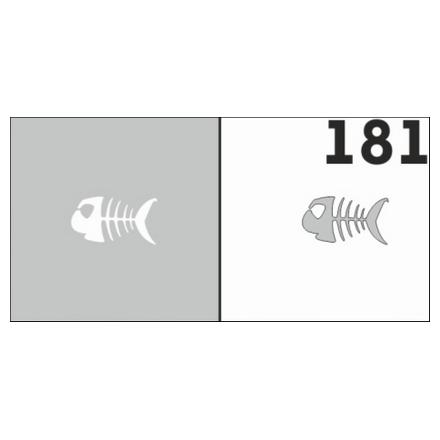 Airnails, Трафареты №181