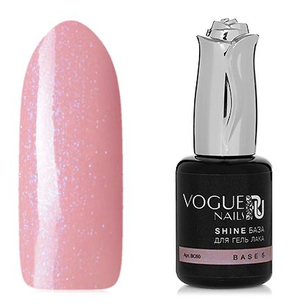 Vogue Nails, База Shine №5, 18 мл