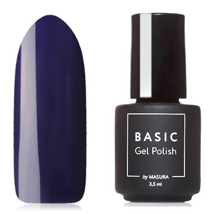 Masura, Гель-лак Basic №294-310M, Черная смородинаMasura трехфазный шеллак<br>Гель-лак (3,5 мл) глубокий сине-фиолетовый, без перламутра и блесток, плотный.<br><br>Цвет: Фиолетовый<br>Объем мл: 3.50