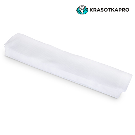 Купить KrasotkaPro, Воротнички из спанлейса, 7х40 см, 100 шт.