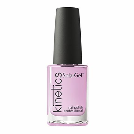 Купить Kinetics, Лак для ногтей SolarGel №381, Ready, set, snow, Розовый
