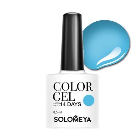 Купить Solomeya, Гель-лак №109, Blue Sky, Wella Professionals, Синий