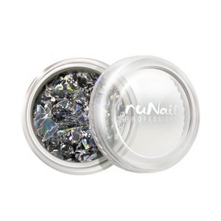 ruNail, дизайн для ногтей: слюда 0336 runail дизайн для ногтей сухоцветы 0468 желтый