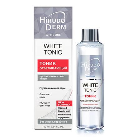 Hirudo Derm, Тоник для лица White, 180 мл недорого