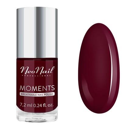Купить NeoNail, Лак для ногтей Moments №7077-7, Wine Red, NeoNail Professional, Бордовый