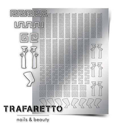 Trafaretto, Металлизированные наклейки OR-01, серебро фото