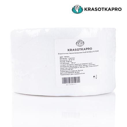 Купить KrasotkaPro, Воротнички из спанлейса, в рулоне, 8х40 см, 100 шт.