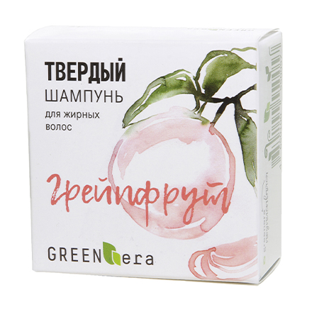 Купить Green Era, Твердый шампунь «Грейпфрут», 55 г