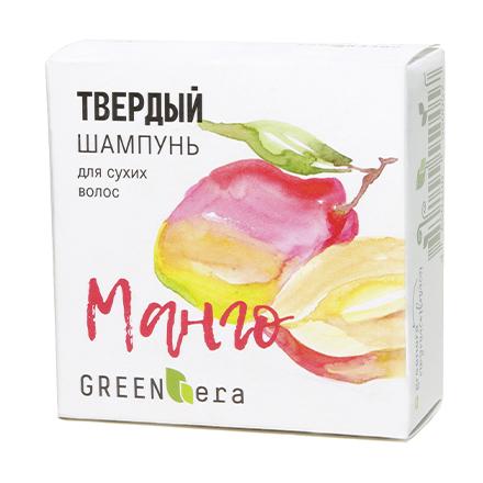 Green Era, Твердый шампунь «Манго», 55 г фото