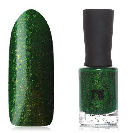 Masura, Лак для ногтей «Золотая коллекция», Сказки старого леса, 11 млMasura<br>Лак (11 мл) насыщенный зеленый, с мелкой фольгой, плотный.<br><br>Цвет: Зеленый<br>Объем мл: 11.00