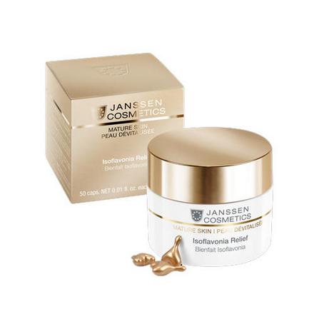 Купить Janssen Cosmetics, Капсулы для лица Isoflavonia Relief, 50 шт.