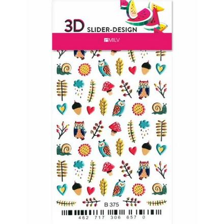 Купить Milv, 3D-слайдер B375