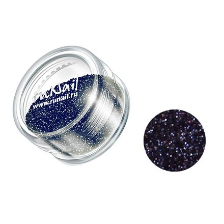 Купить RuNail, дизайн для ногтей: блестки 0639 (цвет графита)