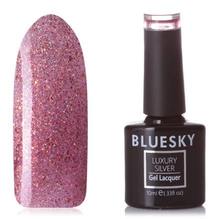 Купить Bluesky, Гель-лак Luxury Silver №718, Оранжевый