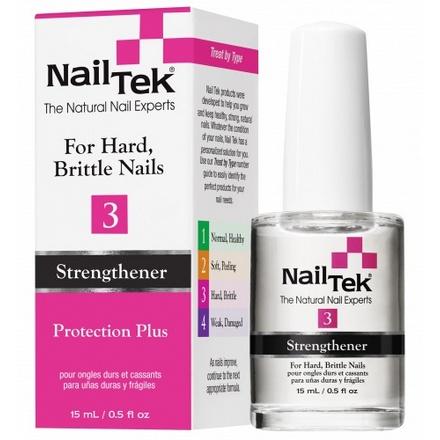 Nail Tek, Укрепитель и усилитель роста для ломких ногтей Therapy 3