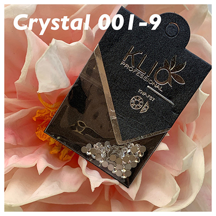Купить Klio Professional, Стразы Crystal №001, 2, 5 мм
