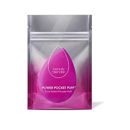 Beautyblender, Пуховка для пудры Power Pocket PuffКисти для макияжа<br>Двухсторонняя подушечка для нанесения пудры.