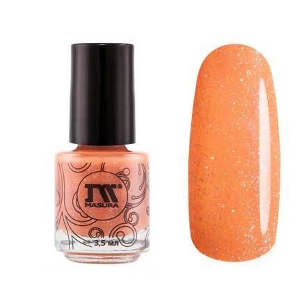 Masura, Лак для ногтей «Золотая коллекция», Pumpkin carriageMasura<br>Лак для ногтей (3,5 мл) цвета карамели, с мелкой фольгой голографик, плотный.<br><br>Цвет: Оранжевый<br>Объем мл: 3.50