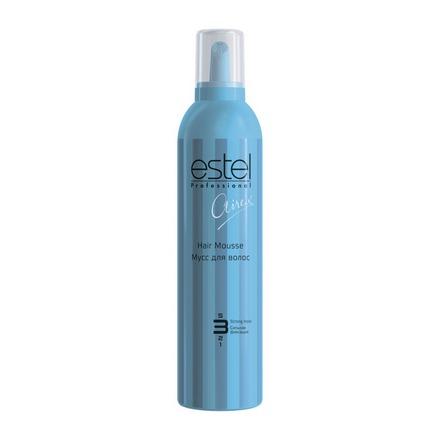 Estel, Мусс Curex Airex, сильная фиксация для волос, 400 мл