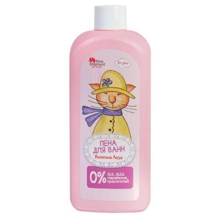 Купить Pink Elephant, Пена для ванн «Кошечка Лиза», 500 мл
