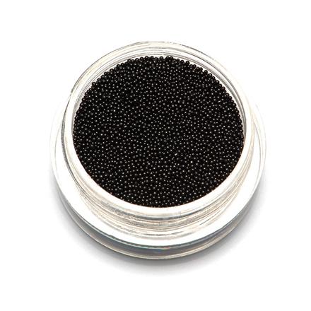 Купить TNL, Бульонки супермелкие, черные, 0, 4 мм, TNL Professional