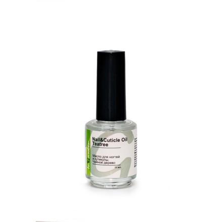 In'Garden, Масло для кутикулы и полировки ногтей Nail and Cuticle Oil, Чайное дерево, 11 мл