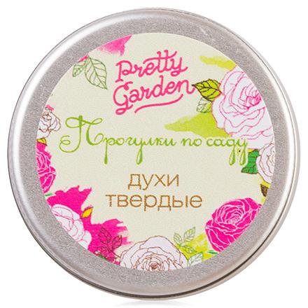 Уральская мыловаренная мануфактура, Твердые духи Прогулки по саду, 10 гр (Uralsoap)