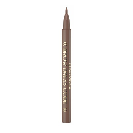 Art-Visage, Фломастер для бровей Brow dress code устойчивый, тон 803 темно-коричневыйКарандаши для бровей<br>Фломастер для оформления бровей. 1,5 мл.<br>
