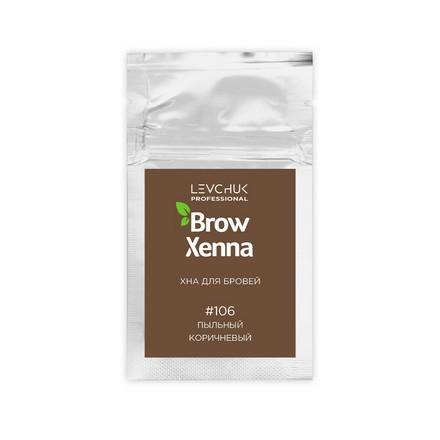 Купить BrowXenna, Хна для бровей «Шатен» №106, 6 г