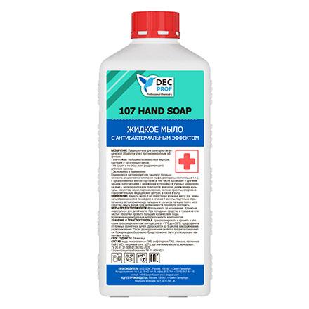 Купить DEC PROF, Жидкое мыло с антибактериальным эффектом, 1 л