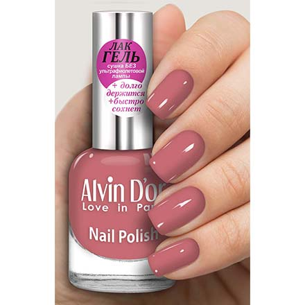 Купить Alvin D'or, Лак-гель №16136, Розовый