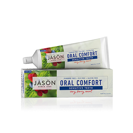 Купить JASON, Гелевая зубная паста Oral Comfort Sensetive, 119 г, JASON (JĀSÖN)