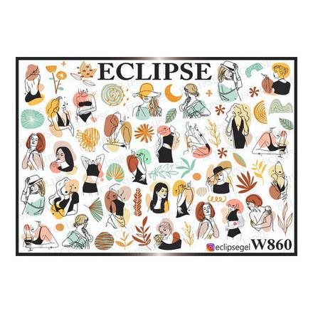 Купить Eclipse, Слайдер-дизайн для ногтей W №860