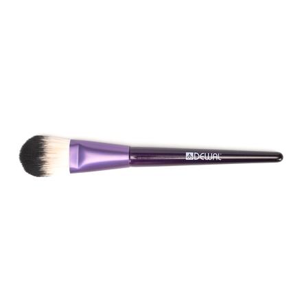 Купить Dewal, Кисть для тональной основы, фиолетовая, 15, 5 см