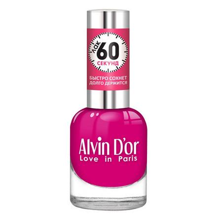 Alvin D'or, Лак «60 секунд» №15 розового цвета